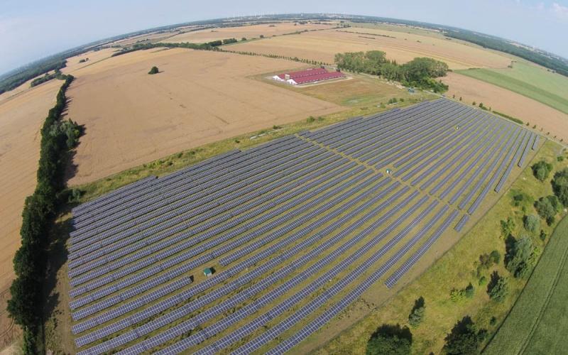 Solarpark - Photovoltaik